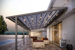New Zealand Retractable Pergola System