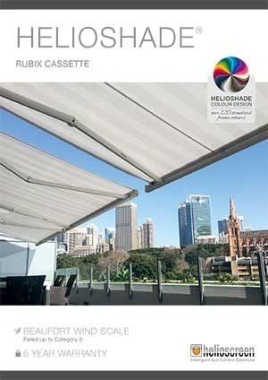 Helioshade EXT RUBIX Cassette Awning Brochure