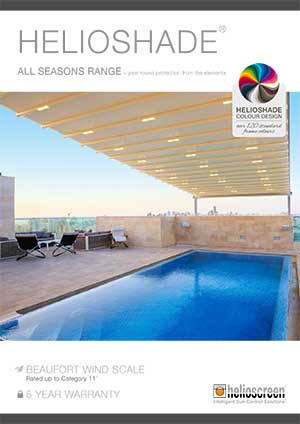 Helioscreen all seasons folding roof brochure